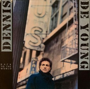 Dennis De Young - Back To The World (LP) (VG-/G+)